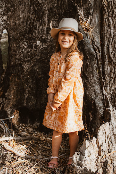 Kids clothing - Lucy Jean - floral dress